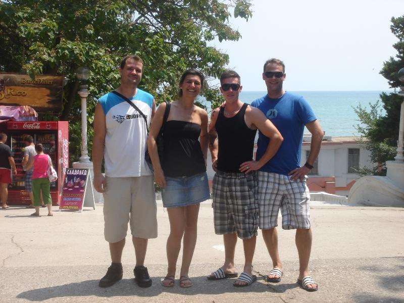 Gruppenfoto in Varna