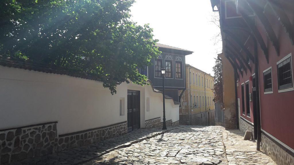 Altstadt in Plovdiv