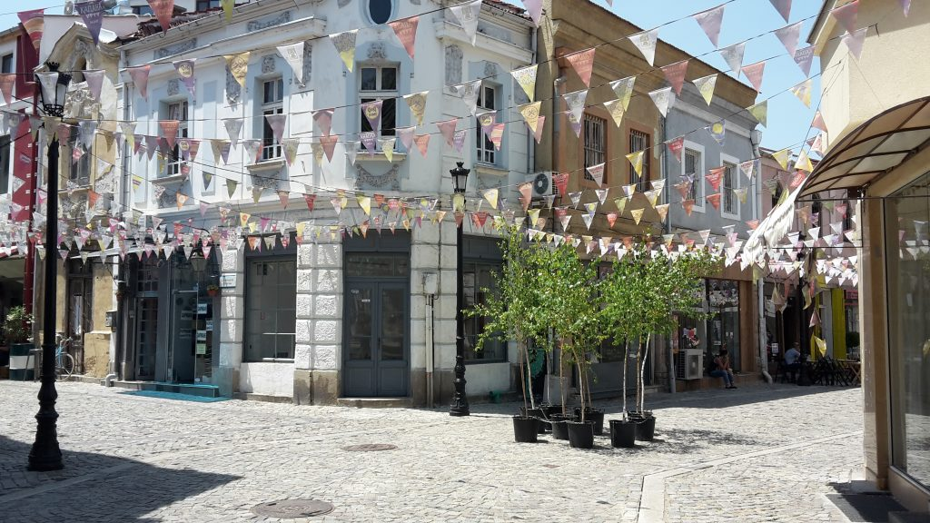 Künstlerviertel in Plovdiv