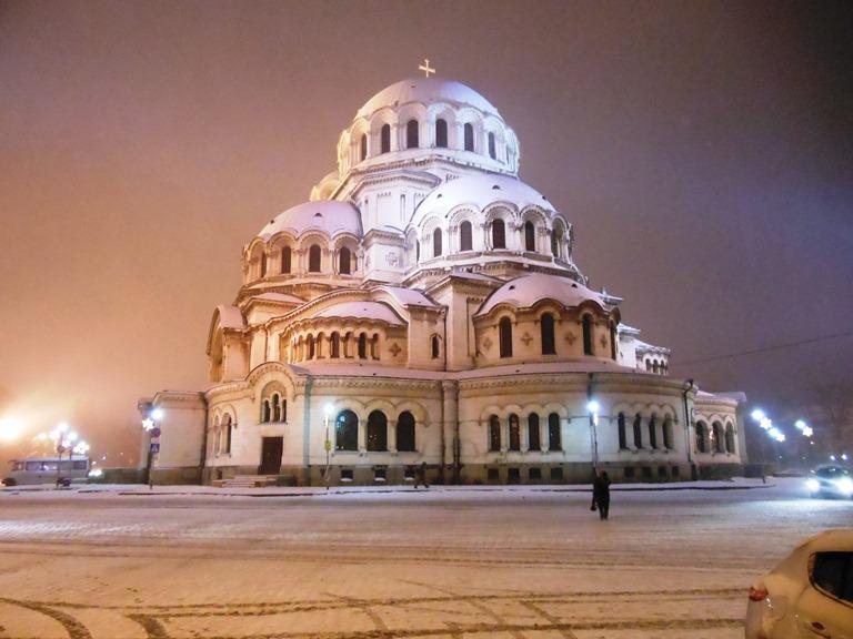die Kathedrale Alexander Newski