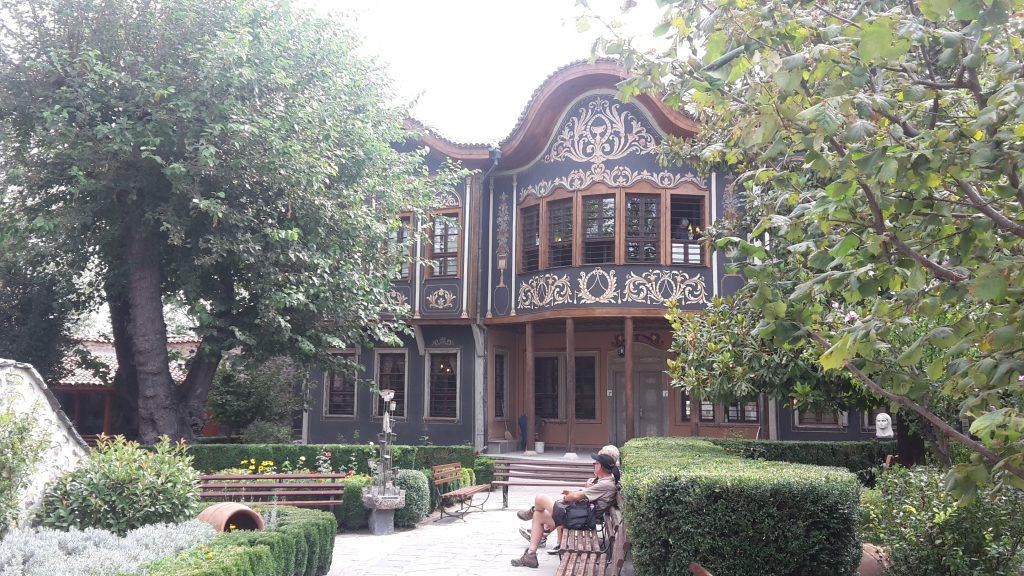 Typisches Herrenhaus in Plovdiv